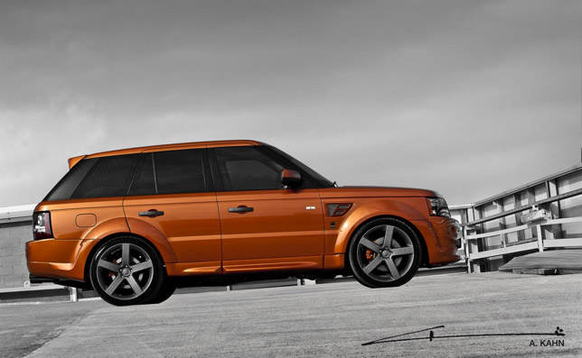 2012 Kahn Vesuvius Orange Range Rover