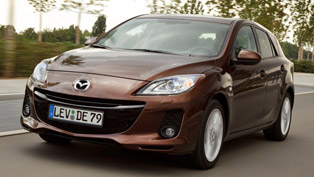2012 mazda3 shows outstanding fuel-consumption figures