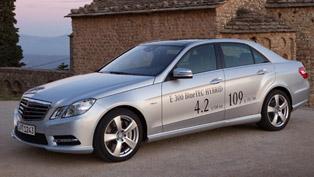 2012 Mercedes-Benz E 300 BlueTEC HYBRID shows impressive efficiency without compromises