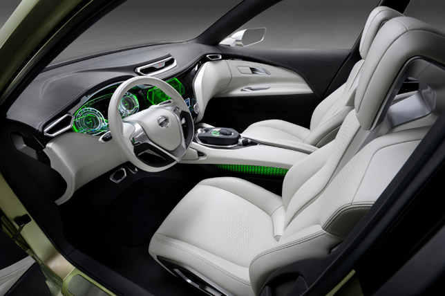 2012 Nissan Hi-Cross Concept Interior