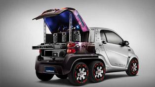 2012 Geneva Motor Show: Rinspeed Dock+Go Mobility System