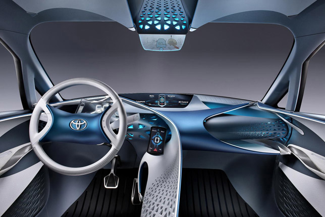 2012 Toyota FT-Bh Concept Interior