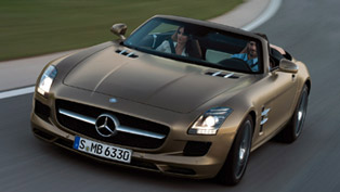 Mercedes-Benz SLS AMG Roadster [HD video] - 0-327 km/h