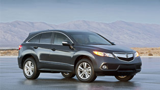 2013 Acura RDX Crossover SUV already in production