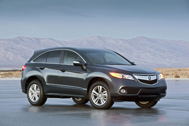 2013 acura rdx crossover suv already in production. Black Bedroom Furniture Sets. Home Design Ideas