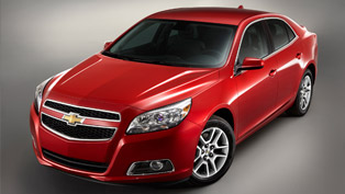2013 Chevrolet Malibu Eco equipped with Ecotec 2.5 liter engine