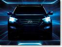 New Teaser Images of 2013 Hyundai Santa Fe