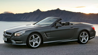 2013 Mercedes-Benz SL Roadster with market launch