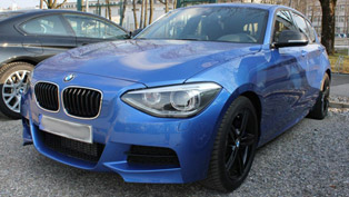 BMW 1-Series M135i [spy photo]