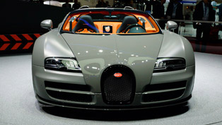 Bugatti Grand Sport Vitesse Debut at Geneva