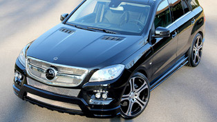 Premiere at Geneva: Carlsson Mercedes ML CD35
