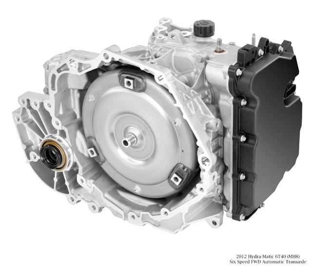 2012 Hydra-Matic 6T40 (MH8) transmission unit