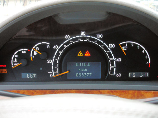 Clocked Mercedes-Benz