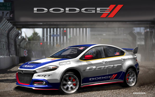 Dodge Dart Race Car