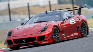 Ferrari 599XX Evolution at Suzuka [HD video]