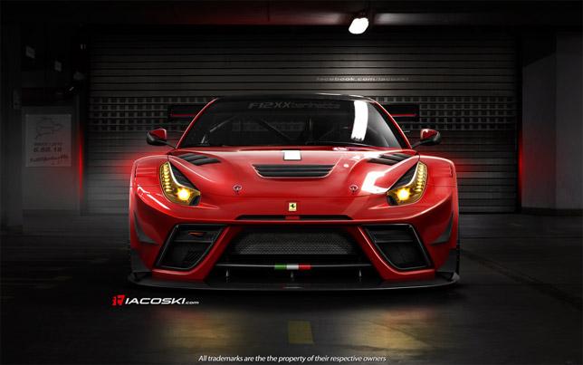 Ferrari F12XX Berlinetta red