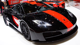 Hamann memoR McLaren MP4-12C at Geneva