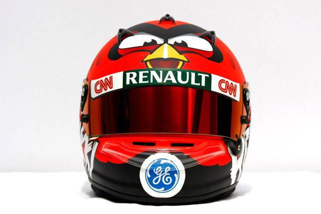 Heikki Kovalainen Angry Birds Helmet
