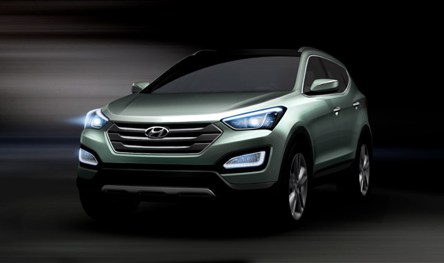 Hyundai Santa Fe (3rd generation)