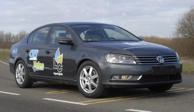 Volkswagen Passat 1.4-litre TSI model with LC Super Hybrid Technology