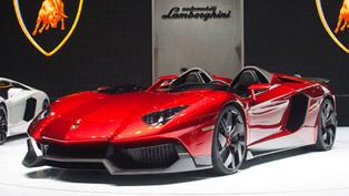 2012 Geneva Motor Show: Lamborghini Aventador J