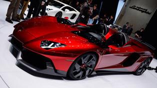 Lamborghini Aventador J [HD video]