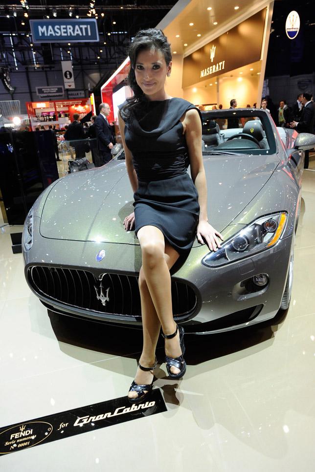 Maserati GranCabrio Fendi Edition