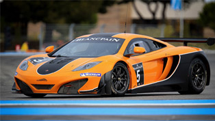 McLaren MP4-12C GT3 in 2012 FIA GT1 World Championship