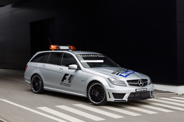 2012 Mercedes Benz C63 AMG Estate Official F1 Medical Car