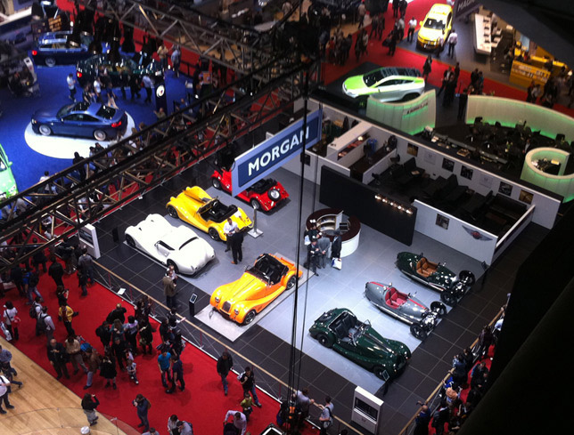 The Morgan Stand at the 2012 Geneva Motor Show