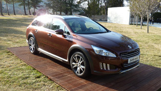 Peugeot 508 HYbrid4 RXH and Saloon