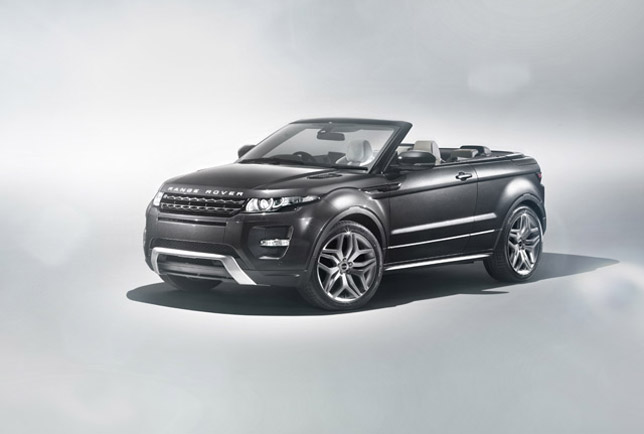 Prindiville Range Rover Evoque Convertible Concept