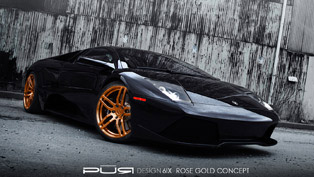 Pur Wheels on a Lamborghini Murcielago LP 640