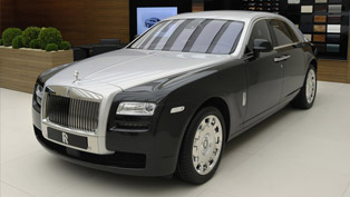 2012 Geneva Motor Show: Rolls-Royce Ghost Two-Tone