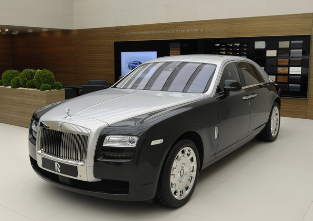 Rolls-Royce Ghost Two Tone in Geneva