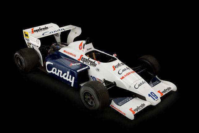 Toleman TG184-2 F1 - Ayrton-Senna
