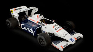 Toleman TG184-2 F1 car driven by Ayrton Senna up for auction