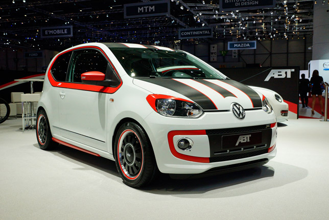 ABT Volkswagen up Geneva 2012