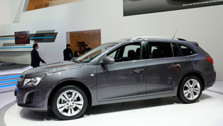 2012 Geneva Motor Show: Chevrolet Cruze Station Wagon