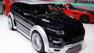 2012 Geneva Motor Show: Hamann Range Rover Evoque