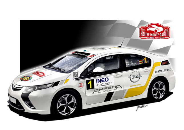Opel Ampera Racing Car