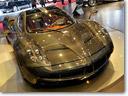 2012 Geneva Motor Show: Pagani Huayra Carbon Edition