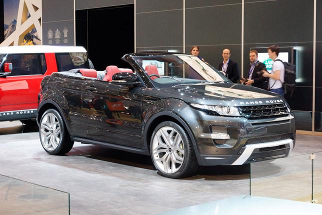 Range Rover Evoque Convertible Geneva 2012