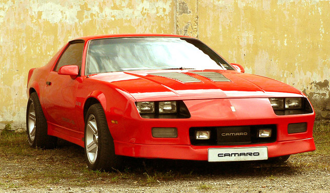 Third generation Chevrolet Camaro IROC-Z