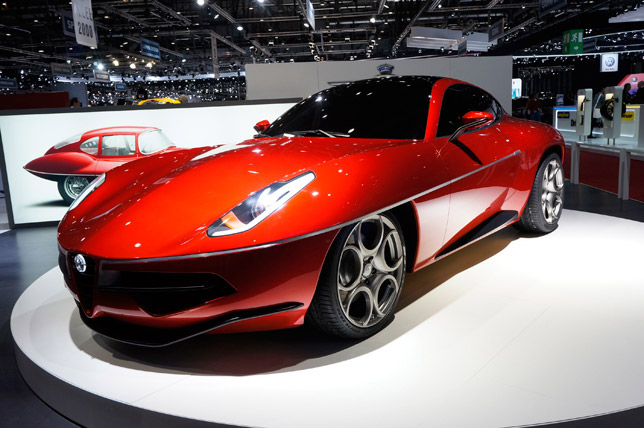 Touring Superleggera Disco Volante Concept