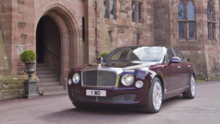 2012 Bentley Mulsanne Diamond Jubilee Edition brings even more luxury