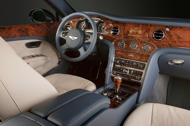 2012 Bentley Mulsanne Diamond Jubilee Edition Interior