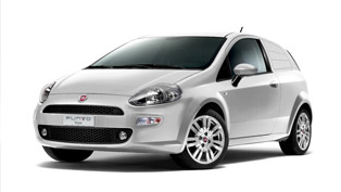 2012 Fiat Punto Van brings more elegance in the Van range
