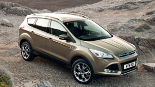 2012 Ford Kuga Compact SUV shows style in Milan