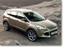 2012 Ford Kuga: the stylish and spacious compact SUV